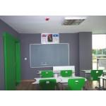 Okul Cam Yazı Tahtası RAL - 7035