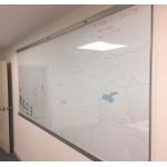 H-101 Manyetik Haritalı Cam Yazı Tahtası